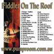 Fiddler On The Roof Backing Tracks In Mp3