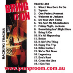 Bring It On Backing Tracks in mp3